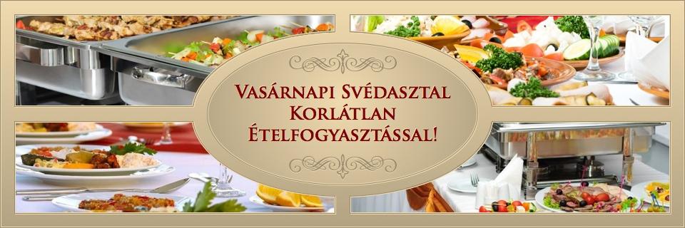 Vasárnapi Svédasztal Büfé